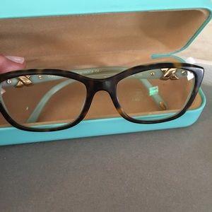 04a90f9b79ac Accessories - Tiffany   Co. TF2074 8134 52mm Havana Blue
